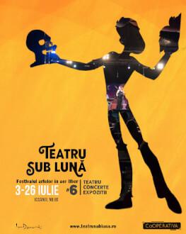 Concert acustic - DANIEL FAT + Iubirea ta mă calcă pe nervi -adaptare de Silvia Gagu Teatru sub lună #6