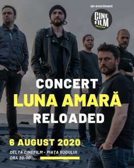 Concert Luna Amară + proiecție The Matrix CineFilm
