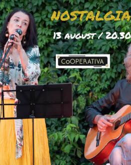 NOSTALGIA DA BOSSA concert de muzică braziliană