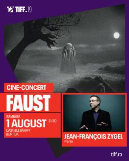 FAUST CINE-CONCERT Accompanied live by JEAN-FRANÇOIS ZYGEL, a master of improvisation