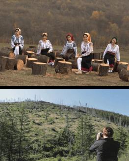 """Concert Surorile Osoianu și proiecție specială """"Lemn"""" TIFF.19"""