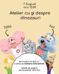 Atelier cu și despre dinozauri cu Tzitzi și Poc Atelier cu și despre dinozauri