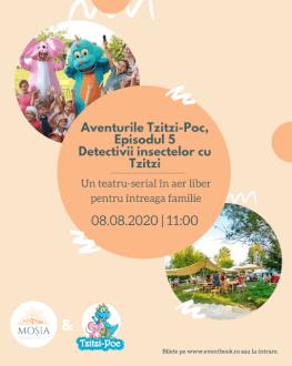Spectacol-Atelier Detectivii insectelor Atelierele de joacă Tzitzi-Poc