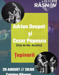 Concert Adrian Despot, Cezar Popescu & Țapinarii Festivalul de Film și Istorii Râșnov #12