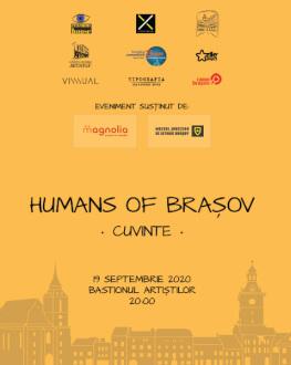 Humans of Brașov: Cuvinte (Sold Out)