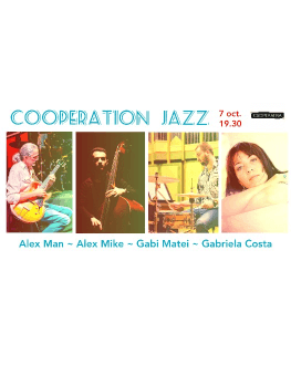 Cooperation Jazz Alex Man - Alex Mike - Gabi Matei - Gabriela Costa
