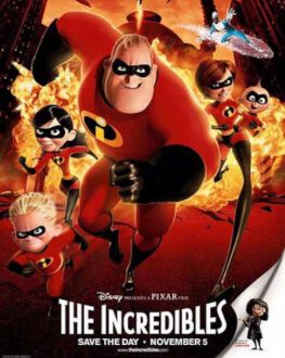 THE INCREDIBLES/ Incredibilii (2004) KINOdiseea la Opera Comică pentru Copii