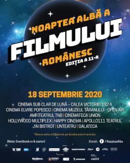 Început Noaptea Alba a Filmului Romanesc 2020