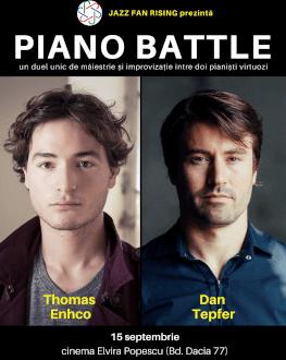 Piano Battle la Jazz Fan Rising Un duel între doi pianiști virtuozi