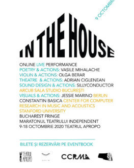 In the House Bucharest Fringe 10