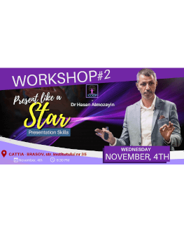 Present like a star! Workshop for Presentation skills