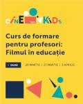 Curs de formare pentru profesori: Filmul în educație