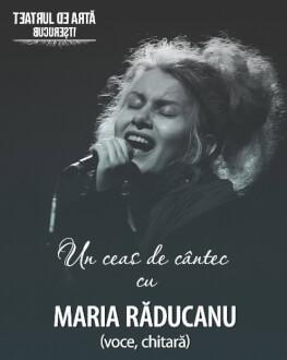 """Concert """"Un ceas de cântec"""" cu Maria Răducanu"""