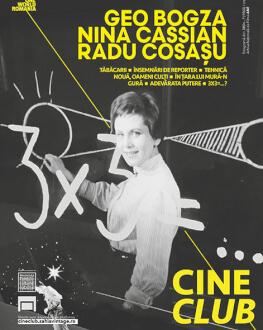 Cineclub OWR: Program Nina Cassian, Geo Bogza, Radu Cosașu One World Romania, ediția a 14-a
