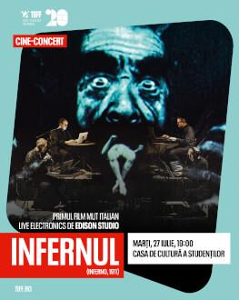 Inferno, live soundtrack by Edison Studio (Italy) TIFF.20