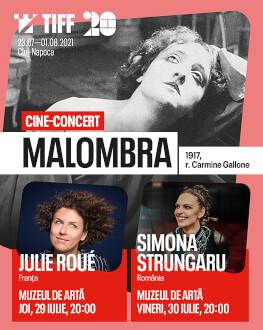 Malombra - live performance by Julie Roué (France) Thursday, 29 July 2021 Art Museum