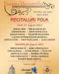 Noaptea Menestrelilor Concert extraordinar folk