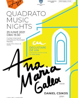 Quadrato Music Nights - Ana Maria Galea & Daniel Csikos