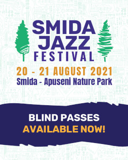 Smida Jazz Festival 2021 20 - 21 august 2021 Smida, Parcul Natural Apuseni