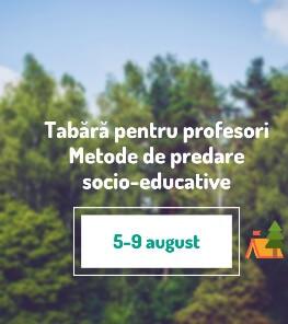Tabără pentru profesori - Metode de predare socio-educative 5-9 Aug 2021 La munte