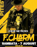 Concert F. Charm Pitești Invitați: Hoynar, Tecsan, DJ Jonatan