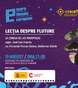"""Seara Filmului European–  """"Lecția despre fluture/ La lengua de las mariposas"""""""