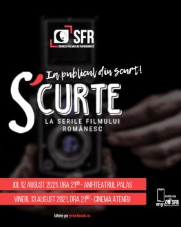 Scurtmetraje românești | Ia publicul din scurt! 2 SERILE FILMULUI ROMÂNESC (SFR), ediția a 12-a