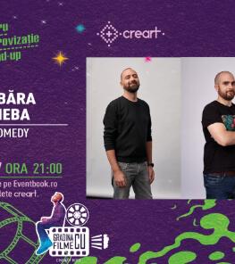 Stand-up comedy: Vio, Victor Băra și Raul Gheba