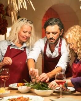 Film Food: Clubul de Gastronomie Cină @Da Pino by chef Sergiu Giulean și chef Genna Marco