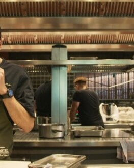 Film Food: The Recipe for Balance Dinner @Visuin by chef Bogdan Vavrita