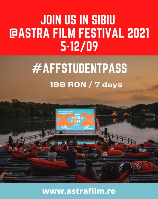 #AFFSTUDENTPASS Astra Film Festival 2021