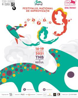 Abonament Vineri 17.09 Festivalul Național de Improvizație !MPRO 9