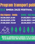 TRANSPORT Cluj-Napoca - Smida / Smida - Cluj-Napoca Smida Jazz Festival 2021