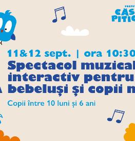 Spectacol muzical interactiv pentru bebeluși și copii mici (10 luni - 6 ani) Compania TempülZ  (Franța)