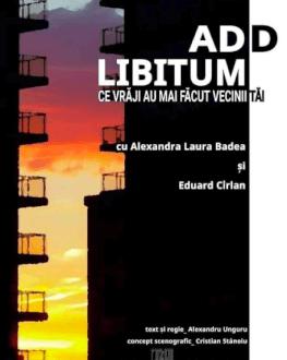 ADD Libitum – Attention Deficit Disorder sau Ce vrăji au mai făcut vecinii tăi de Alexandru Unguru