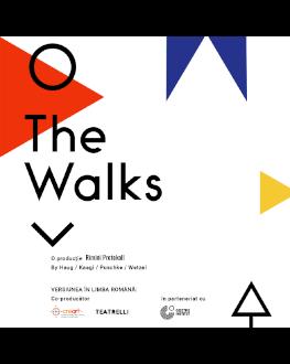 Aplicația THE WALKS Spectacol-experiment realizat de Rimini Protokoll, în co-producție cu creart / Teatrelli și în parteneriat cu Goethe-Institut București