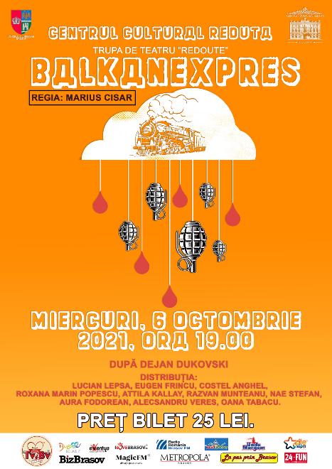 BALKANEXPRES - spectacol de teatru cu Trupa Redoute