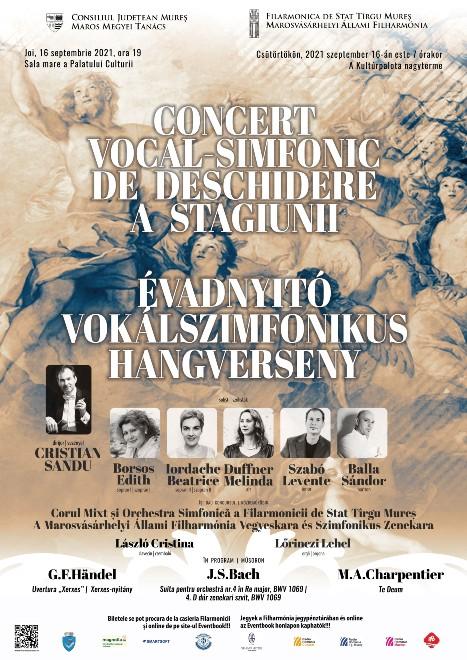 Concert vocal-simfonic de deschidere a stagiunii