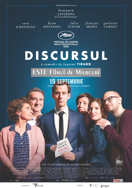 DISCURSUL ESTE FILMUL DE MIERCURI - seară de comedie