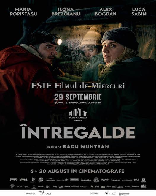 ÎNTREGALDE ESTE FILMUL DE MIERCURI