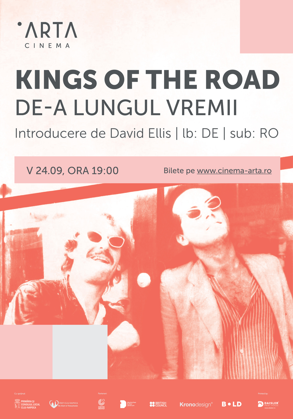 Kings of The Road / De-a lungul vremii Focus Wim Wenders