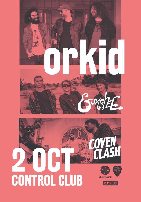 Orkid/ Gunshee/ Coven Clash live in Control