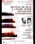 Recital de pian la patru mâini