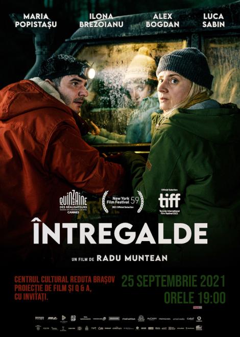 ÎNTREGALDE Serile Filmului Românesc la Centrul Cultural Reduta