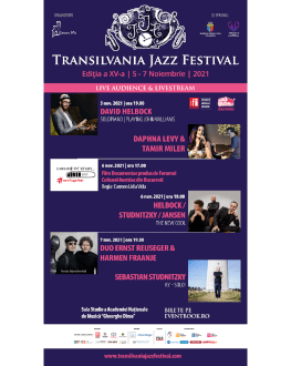 DUO Ernst Reijseger&Harmen Fraanje / Sebastian Studnitzky | KY-Solo! Transilvania Jazz Festival