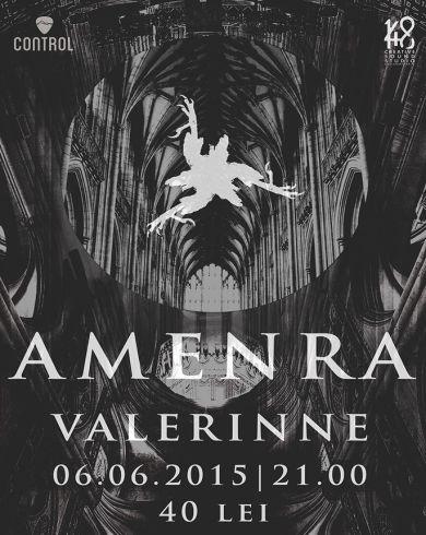 Concert Amenra Special guest: Valerinne
