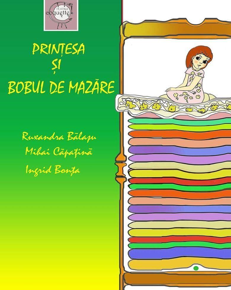 Prințesa și bobul de mazăre Teatru pentru copii