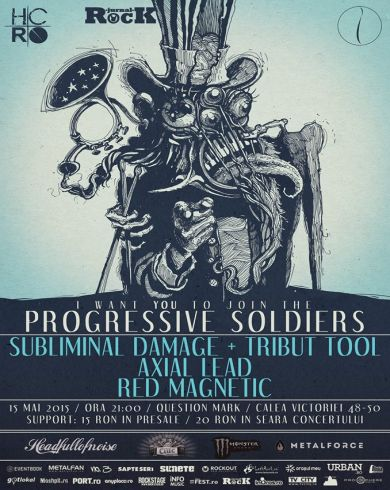 Progressive Soldiers: Red Magnetic | Axial Lead | Subliminal Damage +Tribut Tool