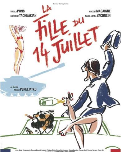 Festival du Film Francais a Bucarest La Fille du 14 Juillet