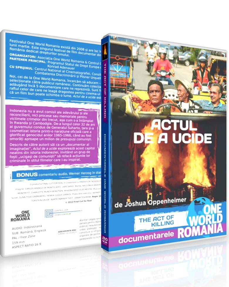 Actul de a Ucide Colectia de DVD-uri One World Ro Bucuresti, București